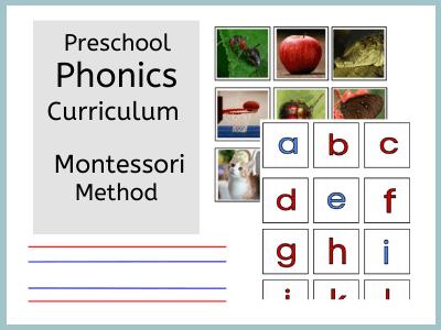 Montessori phonics curriculum
