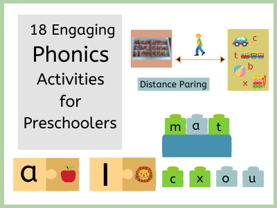 18Fun and Engaging Phonics Activity ideas for Preschoolers