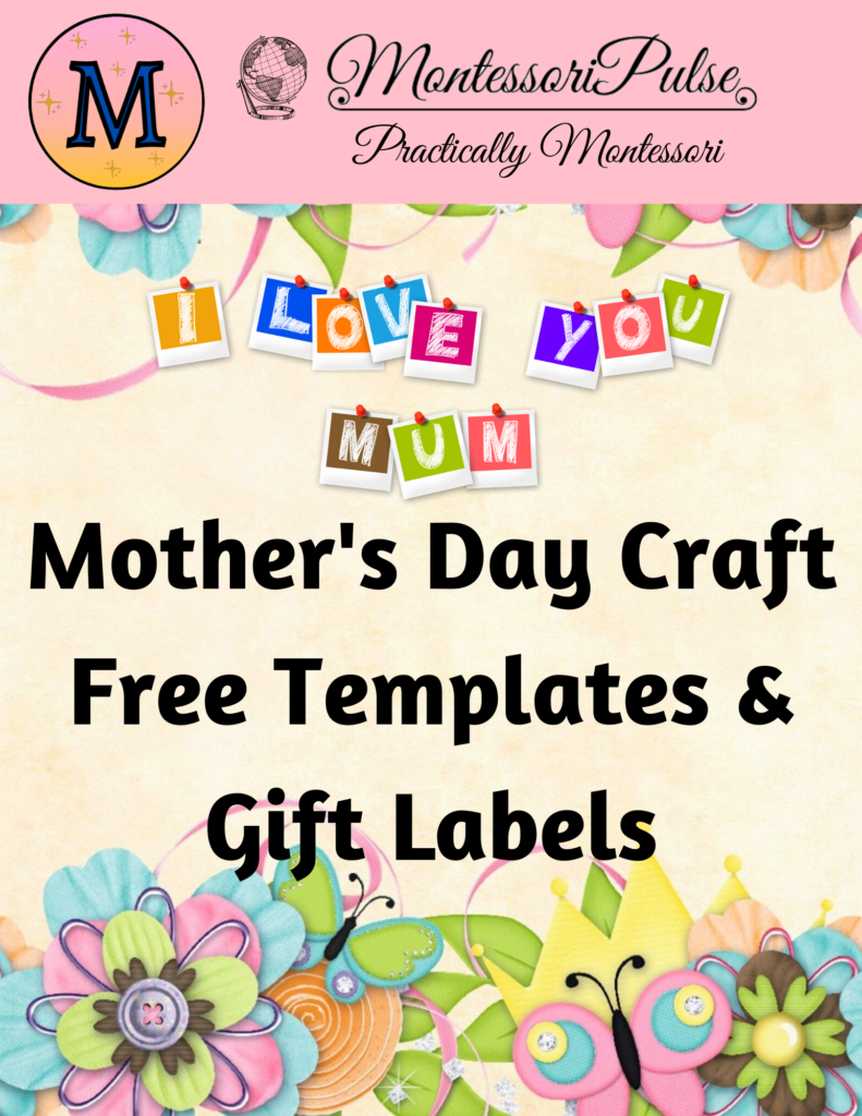 Mother's Day Free Crafts and Gift Labels