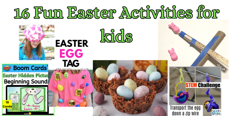 16 Fun Easter Activities for Kids