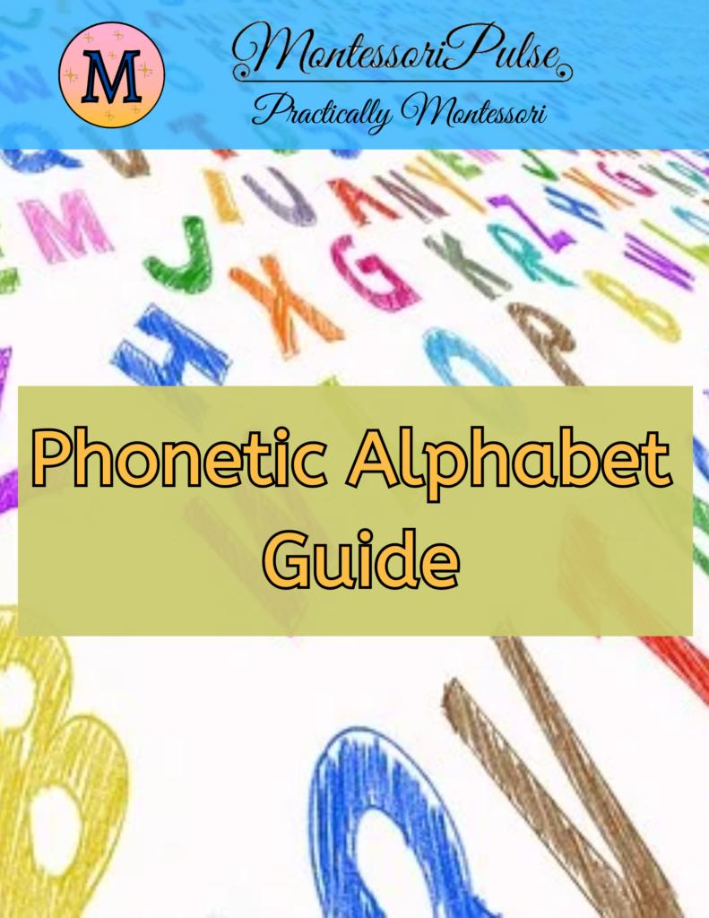 Phonetic Alphabet Guide
