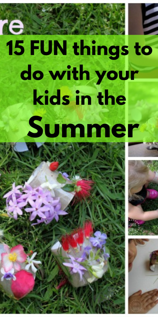 15 things to do in the summer, fun summer activities