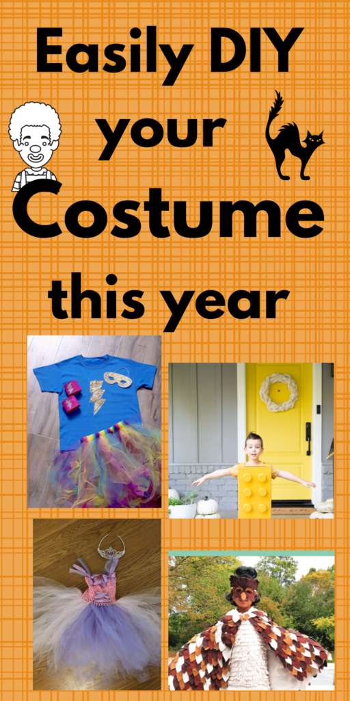 Easy DIY Halloween costume ideas for children