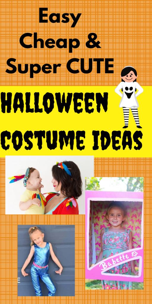 homemade easy Halloween costume ideas for kids